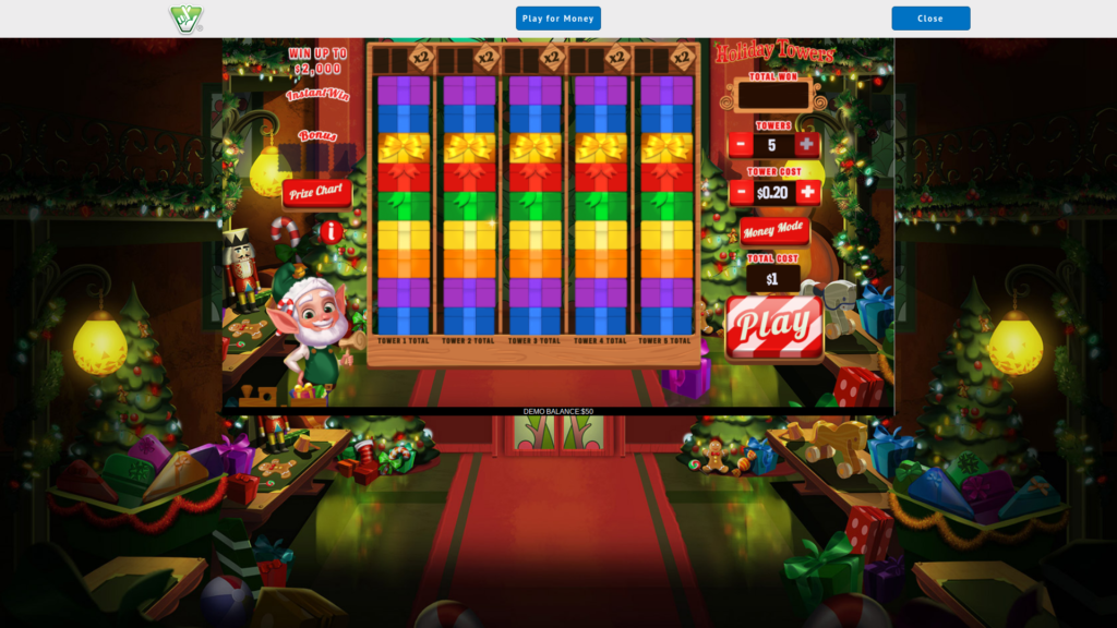Holiday Towers provides prizes of up to $100,000.